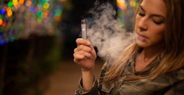 El e-cig causar daño pulmonar