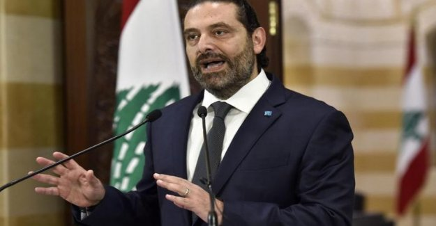 El líbano, los medios de comunicación: premier Hariri a dimitir después de las protestas