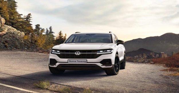 El nuevo Volkswagen Touareg, ahora el Negro Estilo