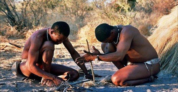 En sudáfrica, la primera casa de Homo sapiens