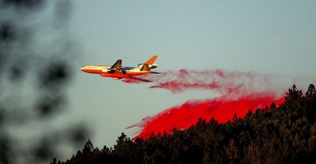 Estados unidos, los incendios de California: por primera vez se emitió una alerta roja extrema