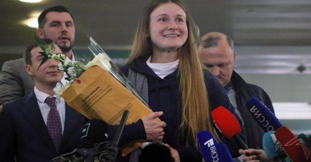 Estados unidos, publicado Maria de la red: el agente, el ruso ha vuelto a Moscú