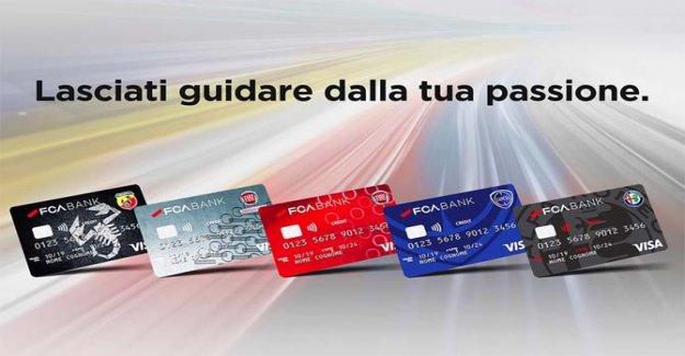 Fca Banco, la tarjeta de crédito es de marca