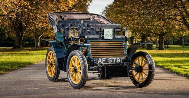 Fiat para el de Londres a Brighton Veterano Coche