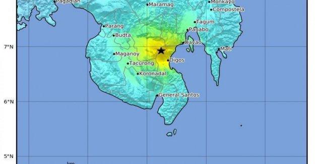 Filipinas, nuevo sismo de magnitud 6.5 en Mindanao