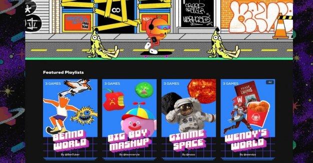 Giphy Arcade, aquí está la microgame de smartphones hecho con el gif