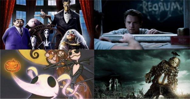 Halloween en el cine y en la biblioteca. Los Addams, el regreso de 'el resplandor' y muchas otras historias de miedo