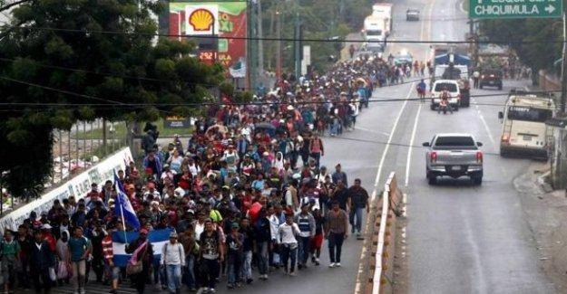 Honduras, firmaron el acuerdo con los Estados unidos y se convierte en un encantamiento, en el tercer País seguro