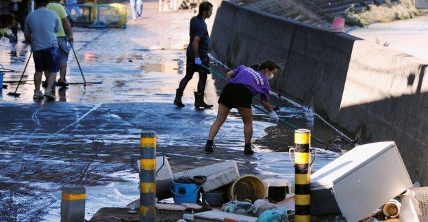 Japón, el tifón Hagibis huelgas en Tokio: 3 muertos, 80 heridos y 17 desaparecidos