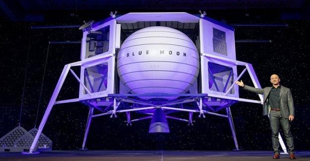 Jeff Bezos es el objetivo de la luna: Blue Origin equipos con Lockheed