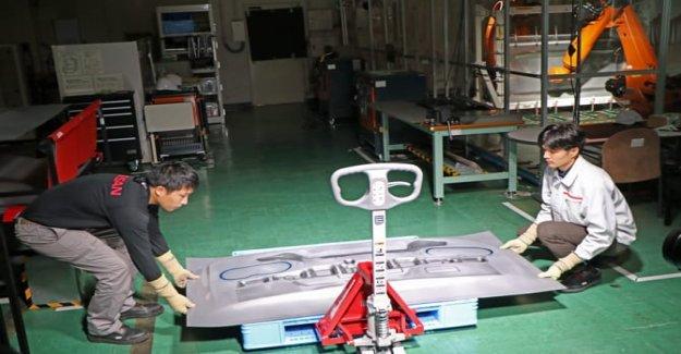 La Idea de Nissan, robots que construyen las piezas de automóvil