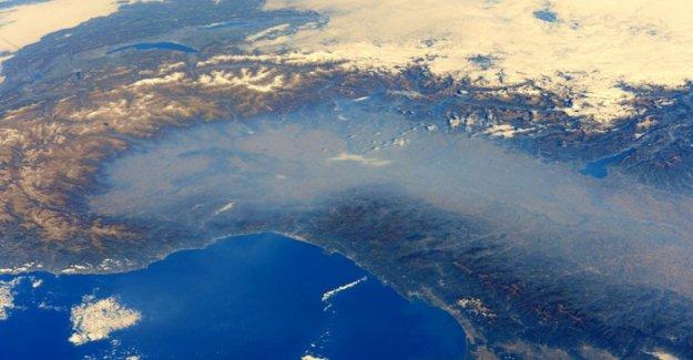 Llueve menos en las llanuras en el Norte de Italia. Y apunta su dedo en el smog
