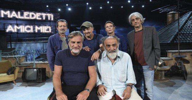 Maldita sea, mis amigos', con Giovanni Veronesi, & c. el espectáculo es de rueda libre