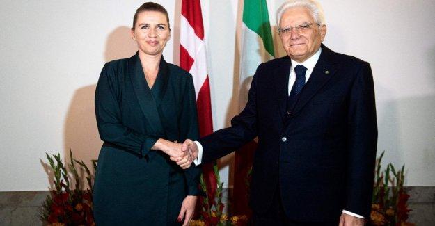 Mattarella obligaciones fundamentales de los estados Unidos y pide una única intervención europea