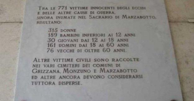 Mattarella, recuerda la masacre de Marzabotto: el mal no es derrotado para siempre