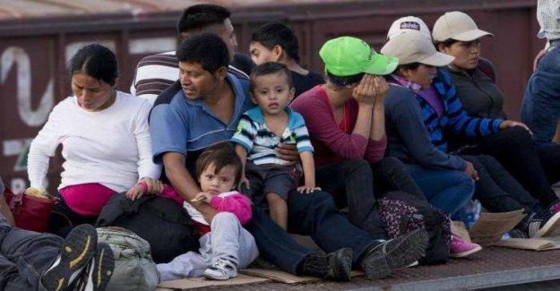 México, acamparon en Ciudad Juárez, esperar respuestas a más de 150 familias en méxico.