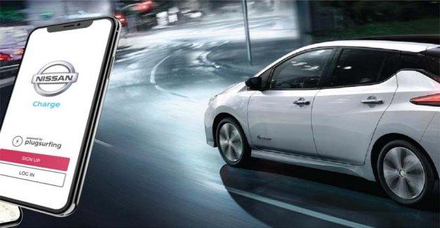 Nissan Carga, recarga de la Hoja es siempre más fácil
