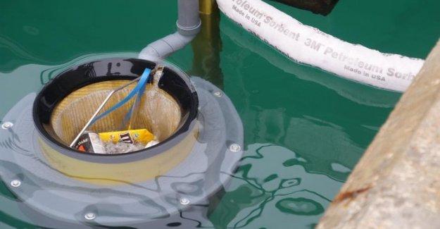 No sólo los puertos, la papelera de agua anti plástico en el centro de Milán