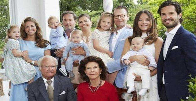 Revolución en la Casa real de Suecia: el rey carl Gustav lleva el título con cinco nietos
