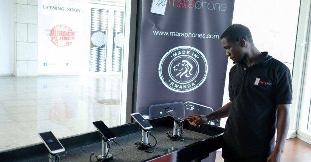 Ruanda lanza el primer smartphone completamente made in Africa