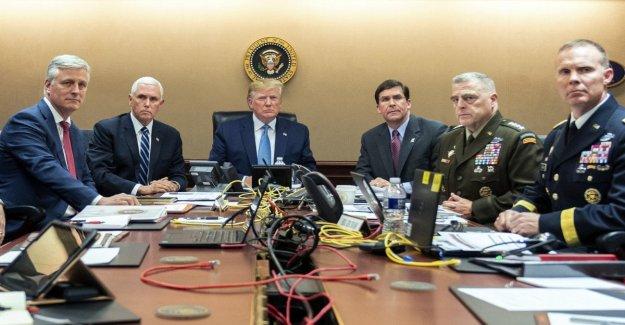 Sala de situación: donde se ha decidido que las operaciones contra al-Baghdadi y Bin laden