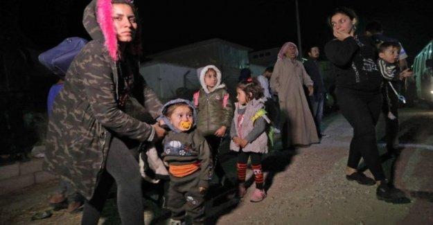 Siria, el vuelo de los niños: las vacunas contra la poliomielitis y el sarampión para los más de 230.000 de ellos en el noreste