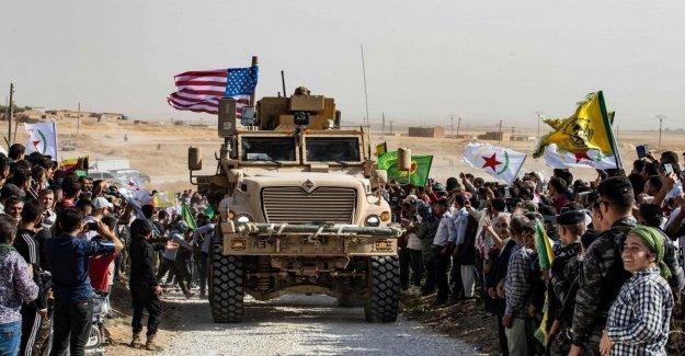 Siria, frenado, estados Unidos: No hay retroceso, el orden de la Trompeta preocupaciones de 50 a 100 soldados