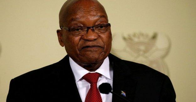 Sudáfrica, el ex-presidente, Jacob Zuma, en un juicio por corrupción