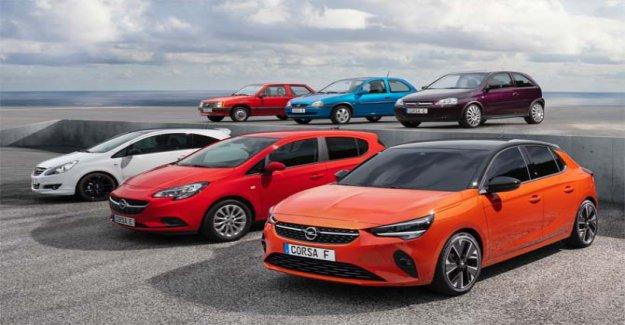 Un millón y medio de veces Opel Corsa