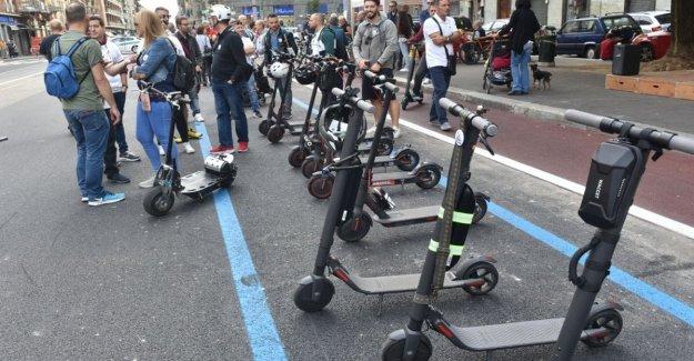 Así que utilizar su scooter: desde Verona uno spirarglio de la legalidad