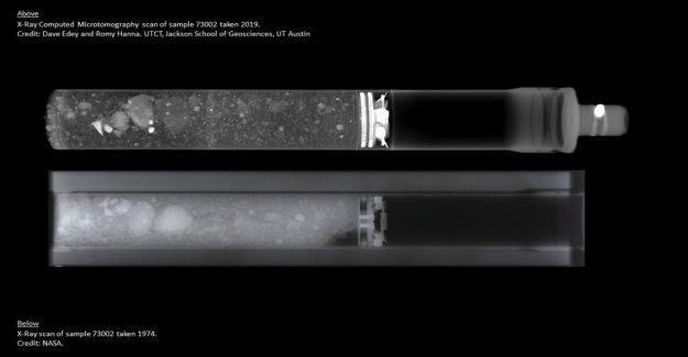 Después de 50 años, la Nasa se abre la cápsula con el suelo de la Luna