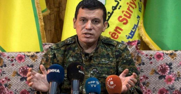 El Kurdo, el jefe militar: vamos a negociar con los estados unidos, pero Trump debe respetar los acuerdos