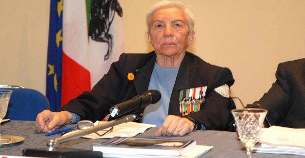 Ella murió a los 97 años de edad Maria Pia Fanfani
