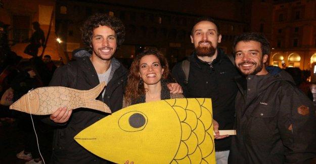 En Bolonia fue fundada el manifiesto de sardinas: Queridos populista, ¿tenemos que ser despertado