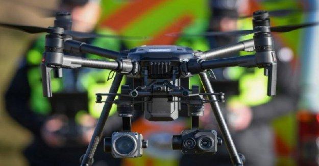 En Escocia drones para encontrar desaparecidos con el reconocimiento facial