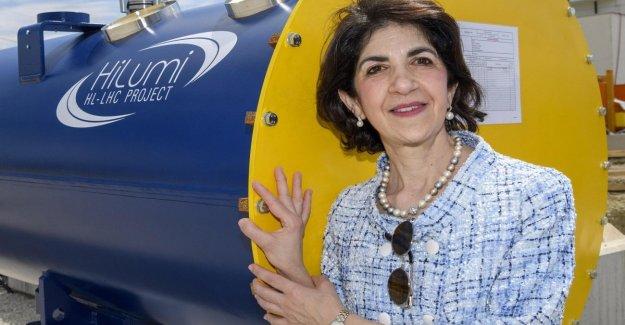 Fabiola Gianotti ratificado en la guía, el Cern