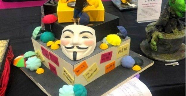 Gb, pastel sobre el tema de la protesta en Hong Kong bajó de la carrera: También estamos afectados por la censura china