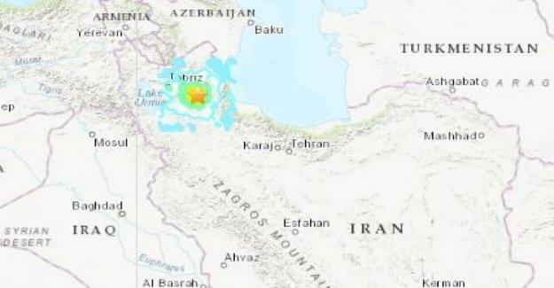 Irán: un terremoto de una magnitud de 5.9. Tres muertos y 20 heridos