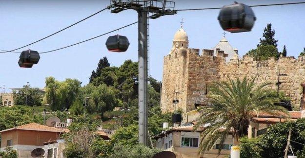 Israel comisión aprueba el proyecto de un teleférico para turistas en la Ciudad Vieja de Jerusalén