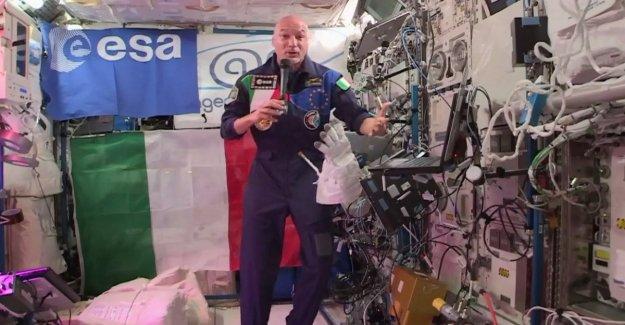 Iss, Luca Parmitano, y Sergio Mattarella, la llamada telefónica desde el espacio