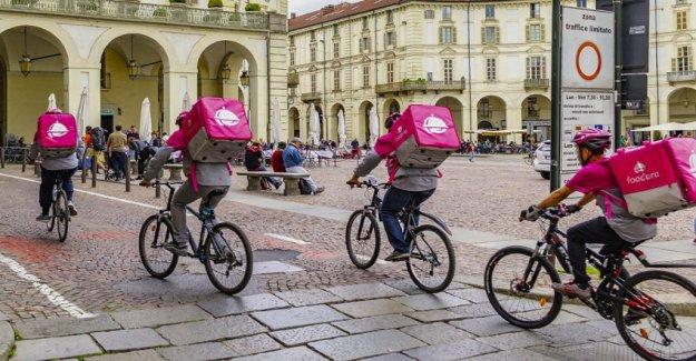 La operación de Pizza seguro: el mundo de la entrega de alimentos está en la anarquía