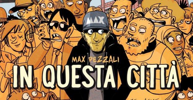 Max Pezzali canta Roma: Zerocalcare gracias a él, el dibujo de la portada