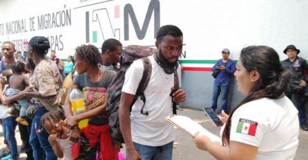 México, la frontera Sur es un Babilonia, africana, india, el caribe, y asia): la migración desde otras regiones de aumentar
