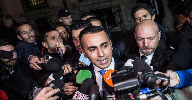 Regional de Di Maio: Ningún efecto en el gobierno