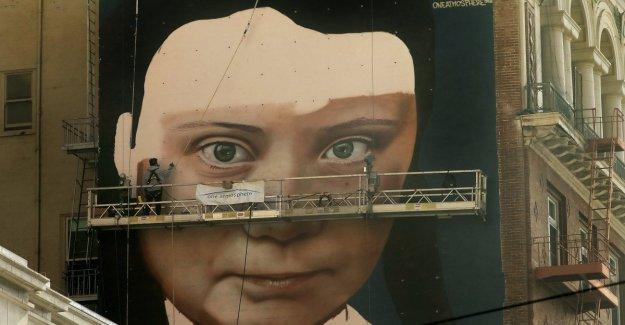 San Francisco, un mural de Greta Thunberg. Un ejemplo para todos, así que vamos a hacerlo
