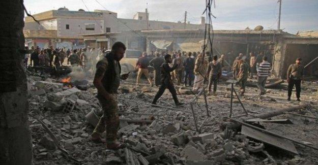 Siria, con coche bomba en el mercado de Tal Abyad: al menos 13 muertos y 20 heridos