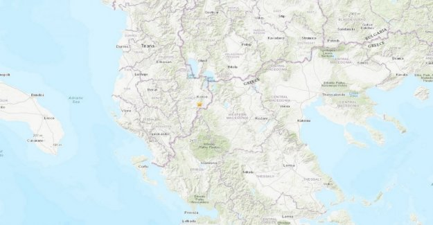Terremoto en la madrugada en Albania. Magnitud 5.2