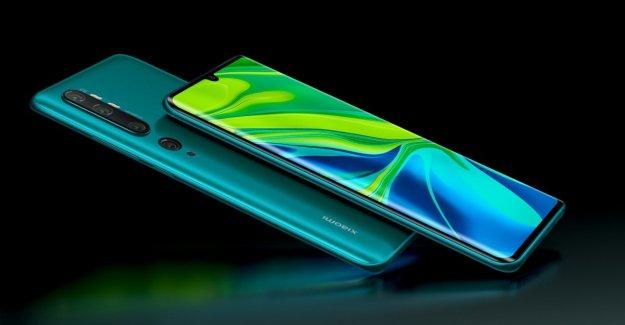 Xiaomi se asiente en una gran forma, aquí está el pentacamera 108 MP