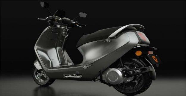 Yadea C1S, scooter vintage 100% eléctrico