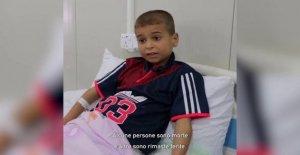 Irak, Antes, Ali Salim, Abdallah: aquí tenemos el cuidado de los niños heridos en Mosul